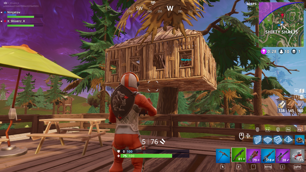 Fortnite Baumhaus
